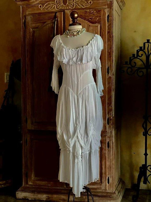 "The"" Sleeping Beauty Dress"" aka The ""Cowgirl Wedding Dress"""