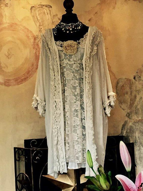 Bridal Camelot Dress & Velvet Opera Coat