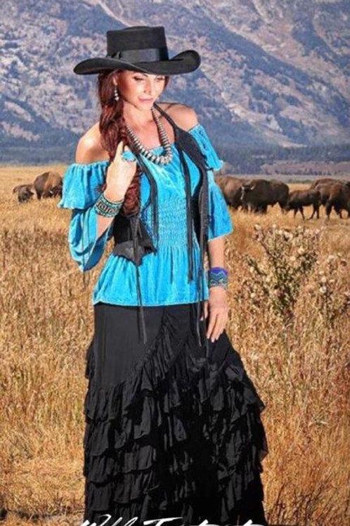 Zorro Skirt & Peasant Top