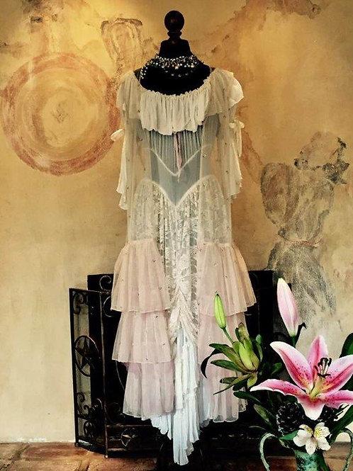 Bridal Sleeping Beauty Dress & Love Duster