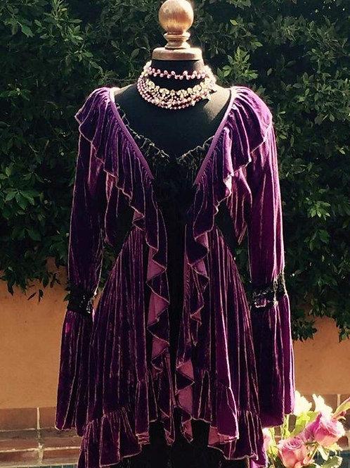 Baroque Jacket silk velvet
