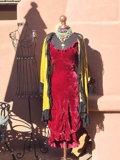 Bustier Dress & Romanza Duster