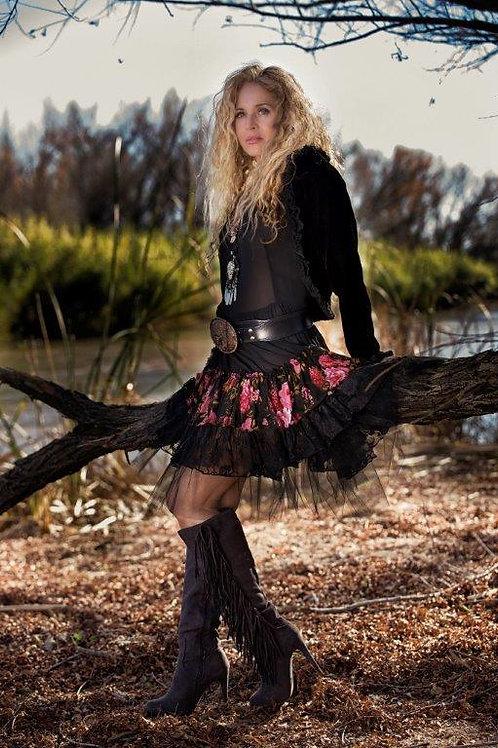 Texas Rose Dress & Bolero Jacket