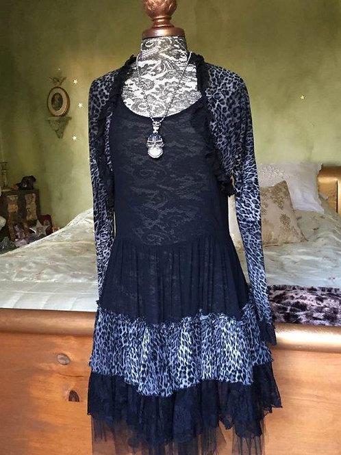 Western Dress & Bolero Jacket