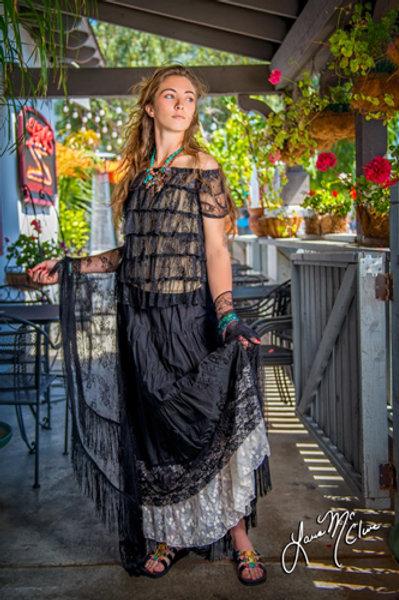 Spanish top & Victorian Petticoat