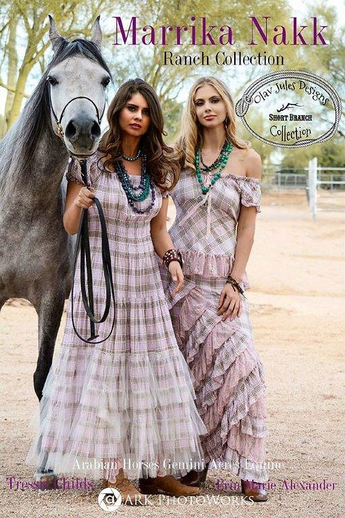 Rodeo Dress and  Saloon Top & Zorro Skirt