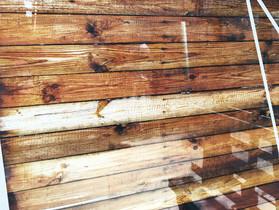 Impression numérique imitation bois