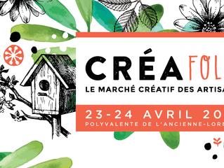 la cabane atelier mobile à Québec en avril!