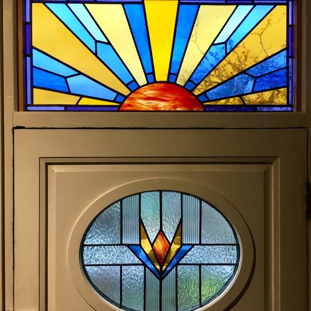 New door and fanlight windows