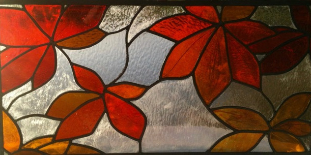 Maple leaves - Liz Jewett