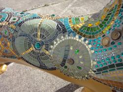 Lion clockwork detail
