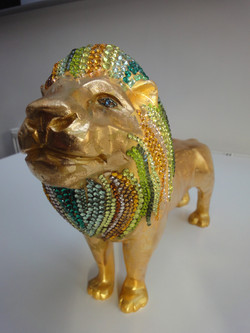 Small jewelled lion