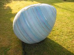 1metre Egg sculpture