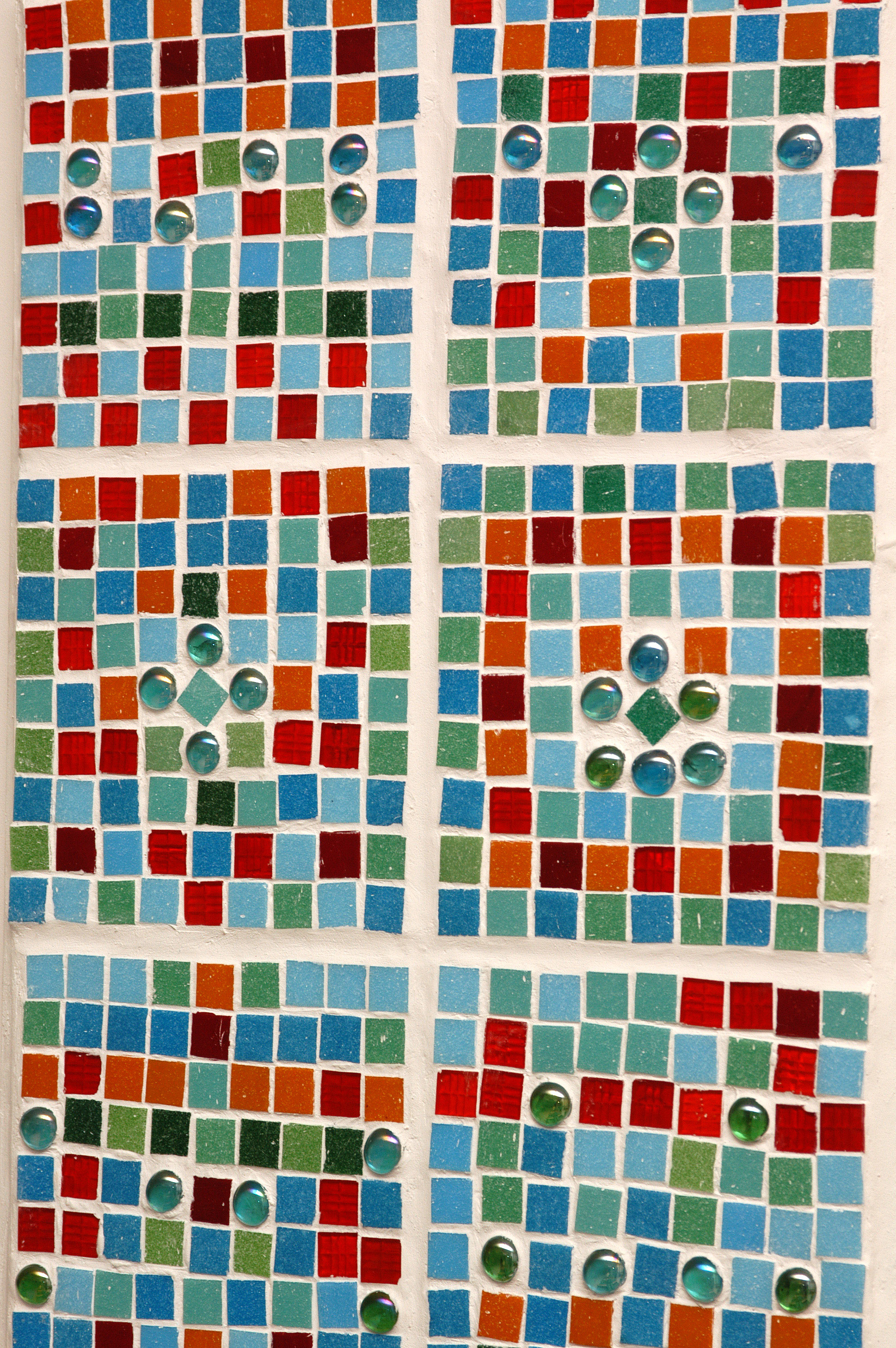 One panel of 6 mosaic works for orthopaedics