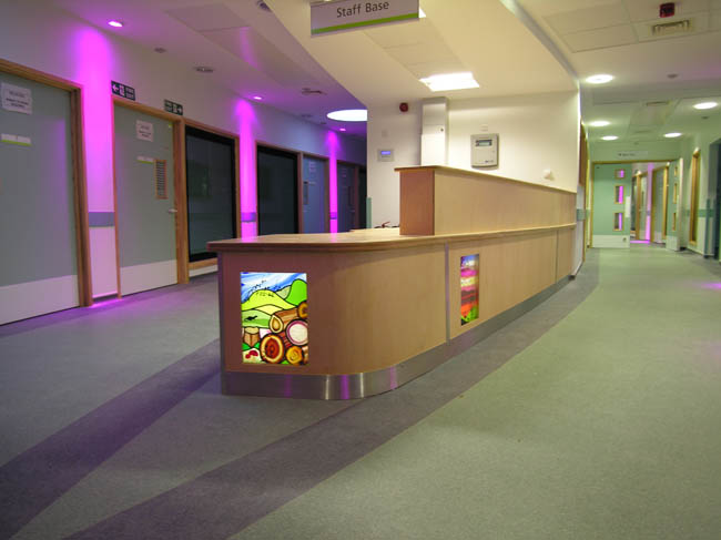 Bristol Children's Hospital desk