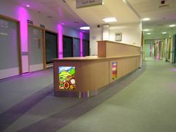 Bristol Children's Hospital desk