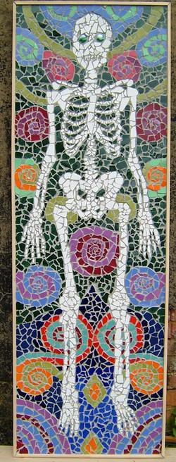 Skeleton mosaic detail