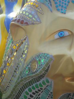 Lion eye detail