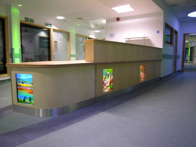 Second Children's hospital desk