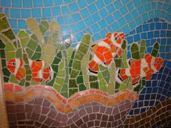 Seascape mosaic detail