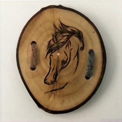 Bouton cheval