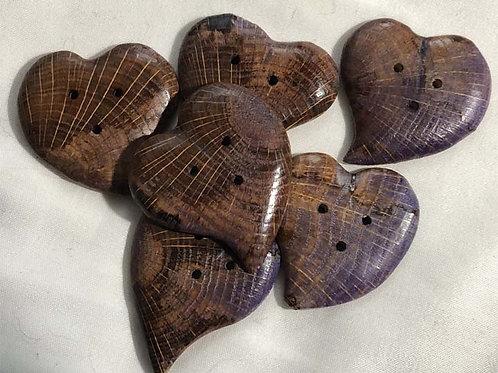 Boutons coeur de chêne