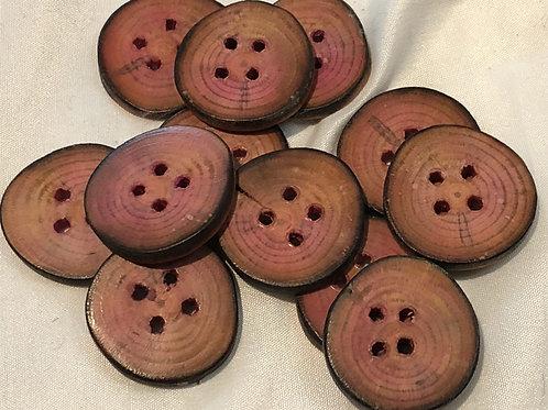 Boutons pin rose