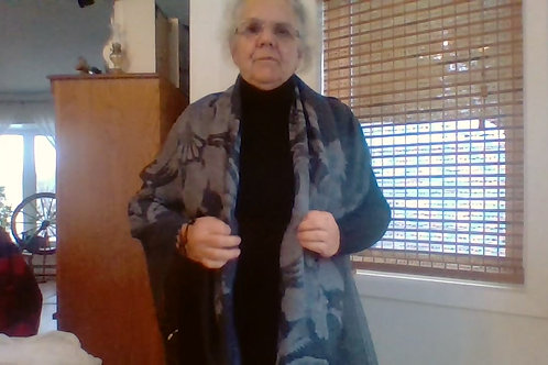 Video pour attacher pashmina et lainage