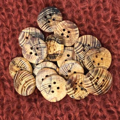 Boutons mélèze 3 cm