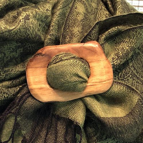 Boucle à foulard carrée