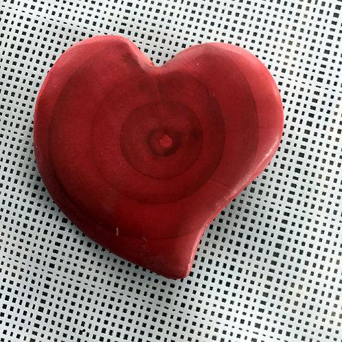 Broche magnétique coeur