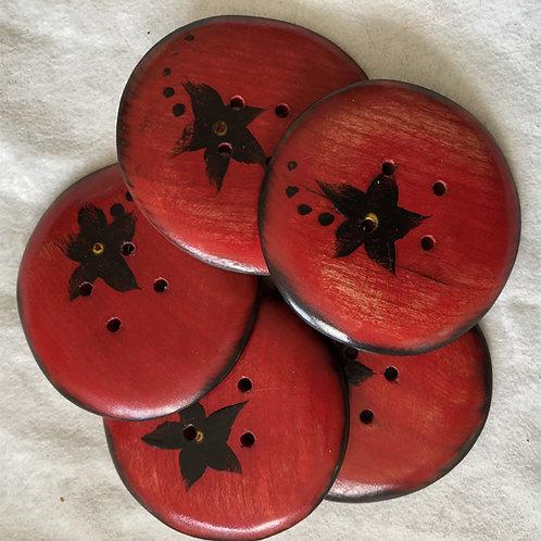 Boutons spéciaux rouges