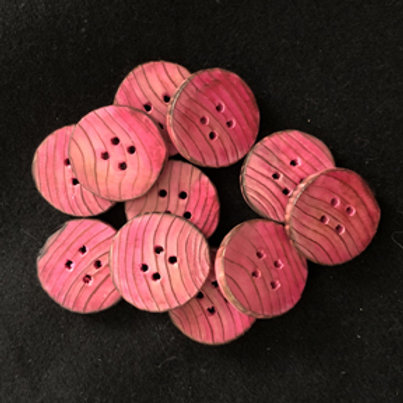 Boutons roses 3cm