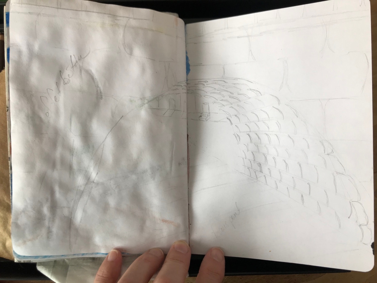 The Sketchbook project, p.12, 2020-2021