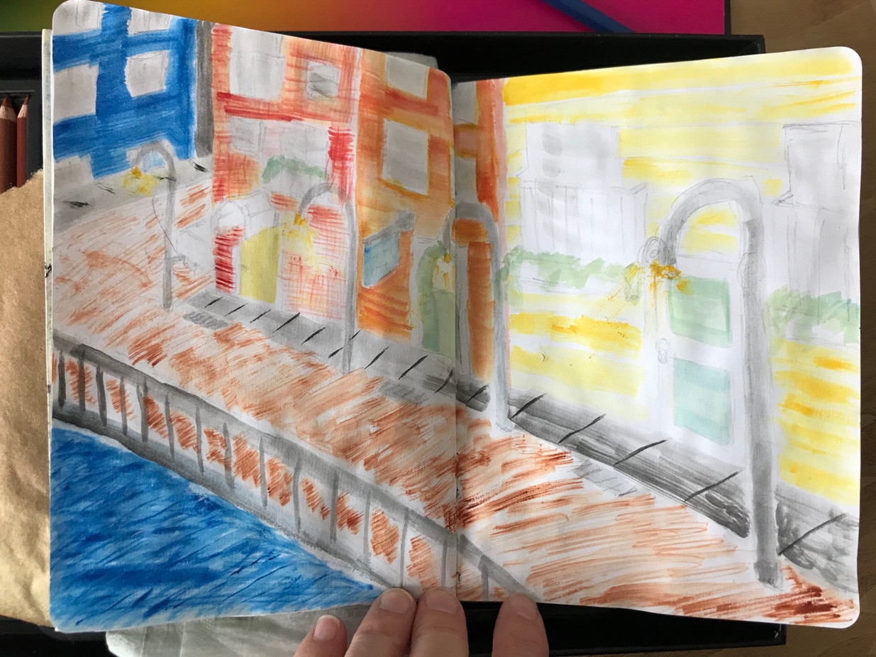 The Sketchbook project, p.9, 2020-2021