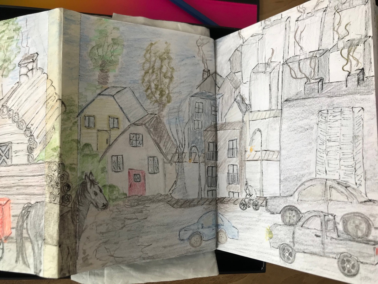 The Sketchbook project, p.6c, 2020-2021