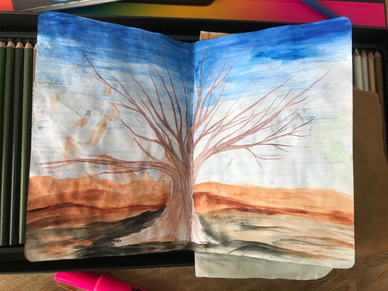The Sketchbook project, p.2, 2020-2021