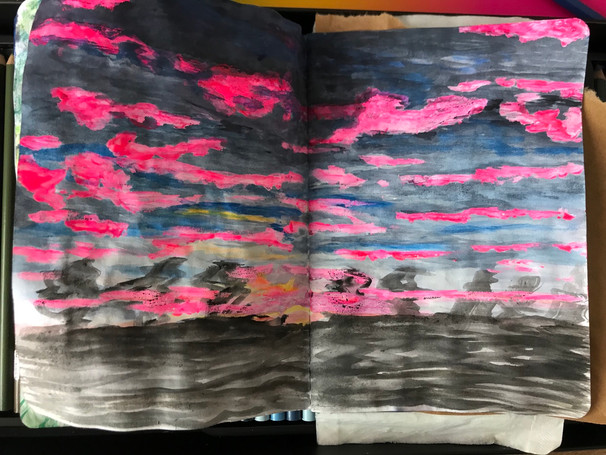 The Sketchbook project, p.4, 2020-2021