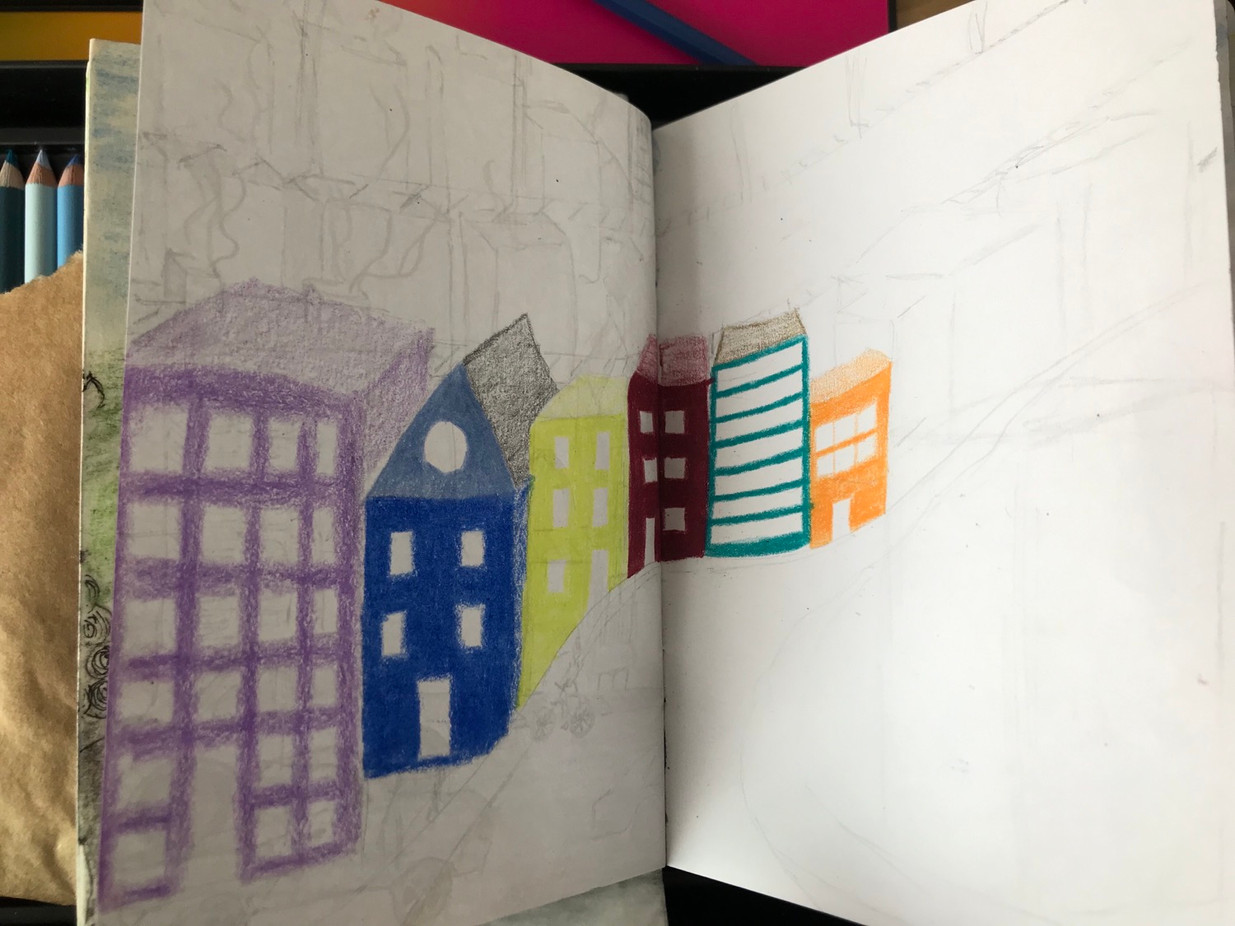 The Sketchbook project, p.7, 2020-2021