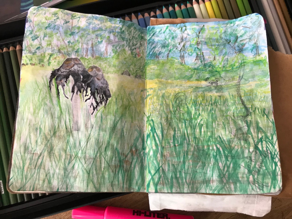 The sketchbook project, p.3, 2020-2021