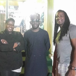 Guess who dropped by JamRock (pssstt! J Martins that's who)