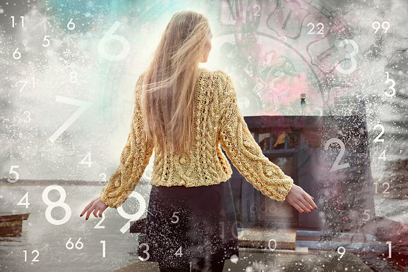 Woman in the world of numbers, numerology.jpg