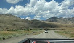 A road in Idaho