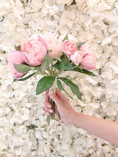 Saint Aymes Artificial Peony Bouquet