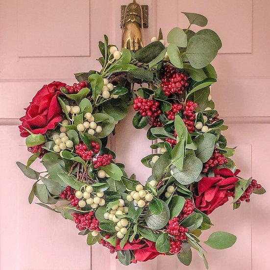Saint Aymes Christmas Wreath