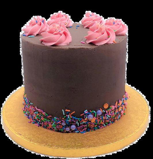 Chocolate Nutella Celebration Cake