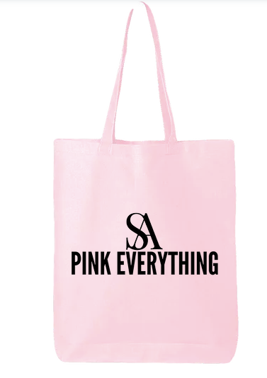 Saint Aymes Pink Everything Tote