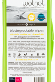 Wotnot Travel wipes 20 pack plus travel case