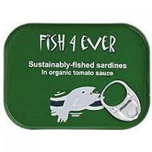 Fish 4 Ever Sardines in Tomato Sauce 120g