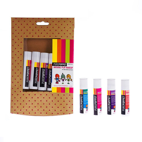Pure Poppet Lip Balm 5 Pack